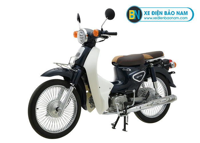 Xe Cub Classic New 50cc màu tím than