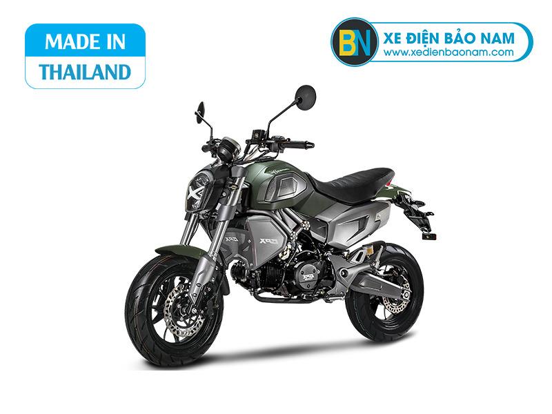 Xe GPX Demon X 125cc màu xanh quân đội