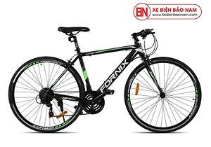 Xe đạp thể thao Fornix BT402 mới nhất màu đenxanh lá cây