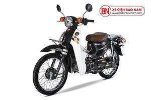 Xe máy Cub 81 Hyosung màu đen nhám