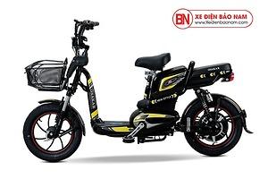 Xe đạp điện Osakar New Style 2020 màu đen tem vàng