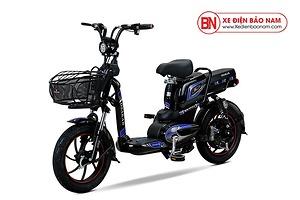 Xe đạp điện Osakar New Style 2020 màu đen tem xanh