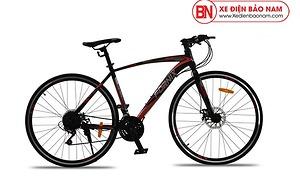 Xe đạp thể thao Fornix FR303 mới nhất màu đen đỏ
