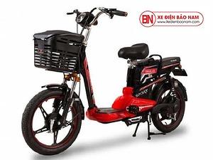 Xe đạp điện Osakar A9 màu đỏ