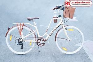 Xe đạp Giant Ineed Latte 26 màu kem