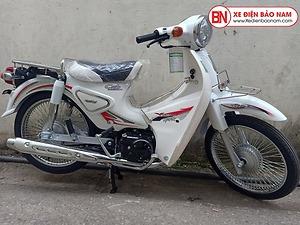 Xe Cub 50CC New Việt Thái 2020 màu trắng