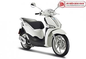 Xe ga Piaggio Liberty 50cc màu trắng 2020