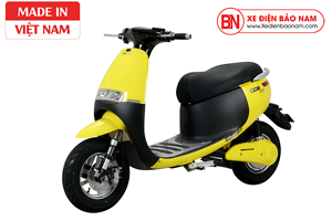 Xe máy điện Gogo osakar màu vàng