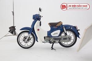 Xe máy Cub Classic Espero Detech 50cc màu xanh