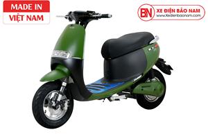 Xe máy điện Gogo osakar màu xanh lá đậm