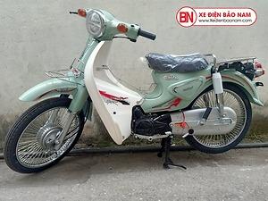 Xe Cub 50CC New Việt Thái 2020 màu xanh ngọc