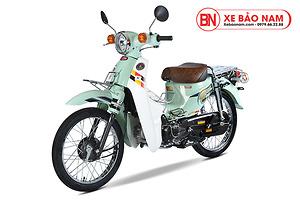 Xe máy Cub 81 Hyosung màu xanh ngọc