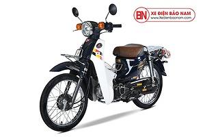 Xe máy Cub 81 Hyosung màu xanh tím than