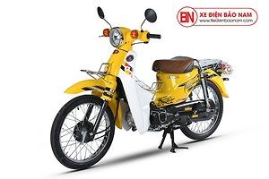 Xe máy Cub 81 Hyosung màu vàng