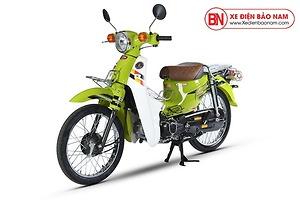 Xe máy Cub 81 Hyosung màu xanh lá cây