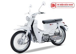 Xe Cub Classic 110cc Thái Lan màu trắng