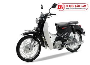 Xe Cub Classic 50cc màu đen nhám