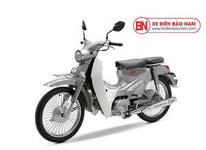 Xe Cub Classic 50cc màu xám
