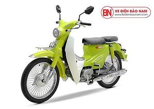 Xe Cub Classic 50cc màu xanh lá mạ