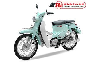 Xe Cub Classic 50cc màu xanh ngọc