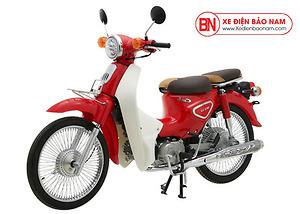 Xe Cub New 50cc màu đỏ