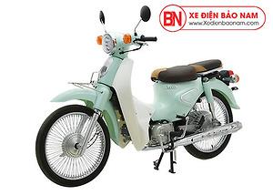 Xe Cub New 50cc màu xanh nhạt