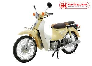 Xe Cub New 50cc màu kem