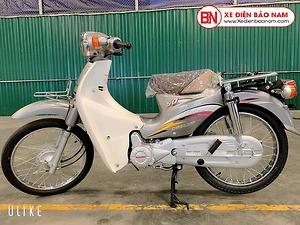 Xe Cub Daelim RC 50cc màu xám