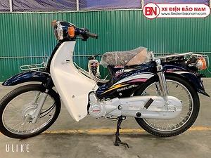Xe Cub Daelim RC 50cc màu xanh cửu long