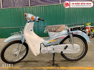 Xe Cub Daelim RC 50cc màu xanh da trời