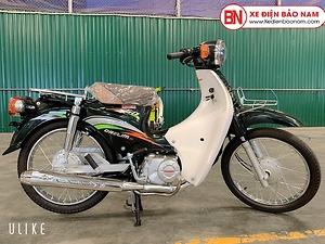 Xe Cub Daelim RC 50cc màu xanh đậm