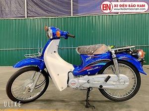 Xe Cub Daelim RC 50cc màu xanh dương