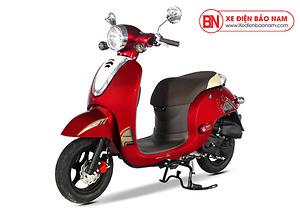 Xe ga 50cc Giorno Detech màu đỏ sẫm