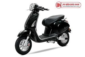 Xe máy điện Vespa Osakar NispaSE màu đen