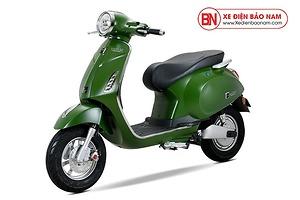 Xe máy điện Vespa Osakar NispaSE màu xanh