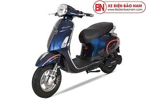 Xe máy điện Vespa Osakar Nispa màu xanh đậm