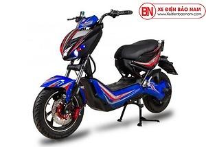 Xe máy điện Xmen Hunter Osakar màu đỏ xanh lam