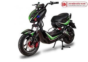 Xe máy điện Xmen Hunter Osakar màu xanh lá