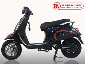 Xe máy điện Vespa Osakar Nispa màu đen