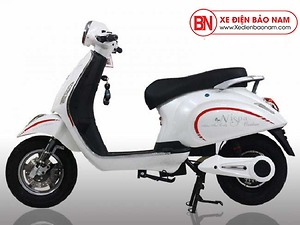 Xe máy điện Vespa Osakar Nispa màu trắng