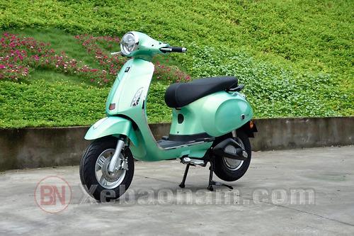 Xe máy điện Nispa SV Osakar màu xanh ngọc