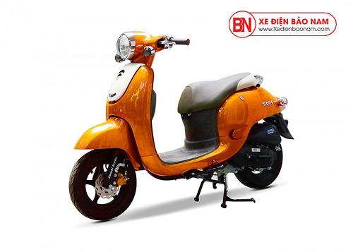 Xe ga 50cc Giorno Mono phanh đĩa màu cam