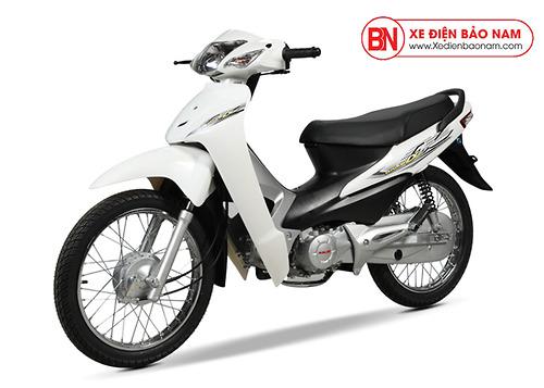Xe máy Wave 50cc màu trắng