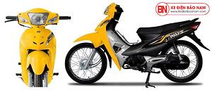 Xe máy 50cc DK WayS màu Vàng