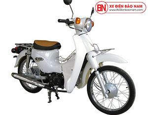 Xe Cub New 50cc Việt Thái Màu Trắng
