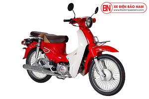 Xe Cub Halim 50cc 2021 Màu Đỏ Bóng