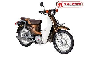 Xe Cub Halim 50cc 2021 Màu Nâu