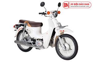 Xe Cub Halim 50cc 2021 Màu Trắng