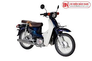Xe Cub Halim 50cc 2021 Màu Xanh Cửu Long