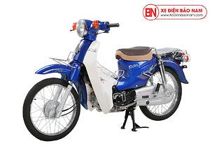 Xe Cub New 50cc Việt Thái Màu Xanh